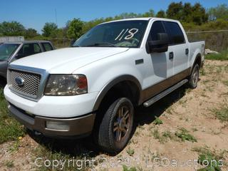 2005 Ford F150 Pickup - Key