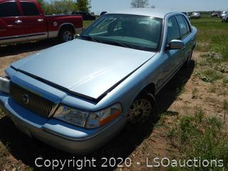 2005 Mercury Grand Marquis - Key