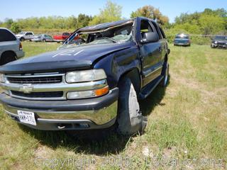2002 Chevy Tahoe SUV