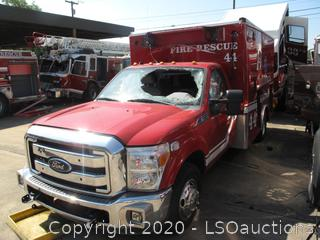 2014 FORD F-350 MICU AMBULANCE