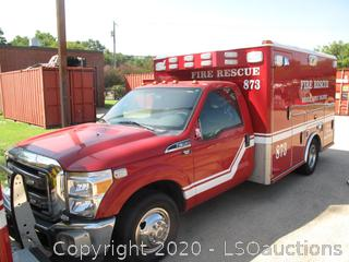 2011 FORD F-350 MICU AMBULANCE
