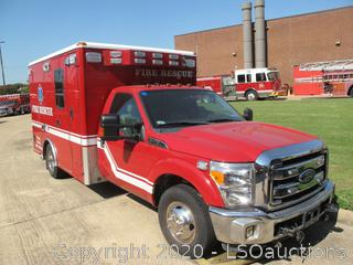 2012 FORD F-350 MICU AMBULANCE