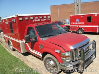 2009 FORD F-350 MICU AMBULANCE