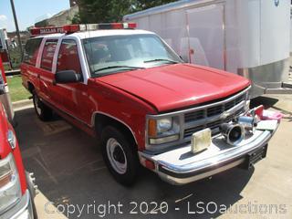1999 CHEVROLET SUBURBAN 2500 SUV