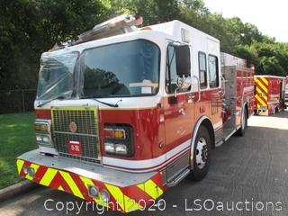 2005 SPARTAN ENGINE PUMPER FIRE TRUCK