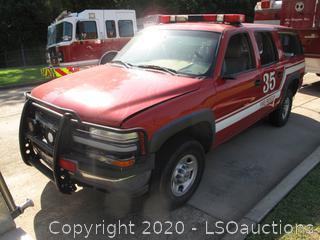 2001 CHEVROLET SUBURBAN 2500 SUV