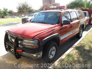 2005 CHEVROLET SUBURBAN 2500 SUV