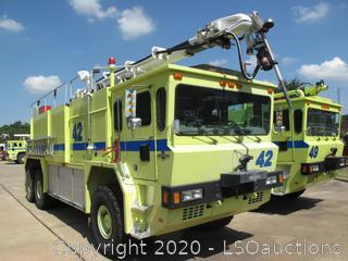 1998 OSHKOSH T-3000 FIRE TRUCK