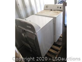 (2) WHIRLPOOL DRYERS