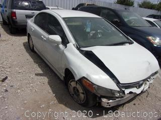 2006 HONDA CIVIC HYBRID - KEY