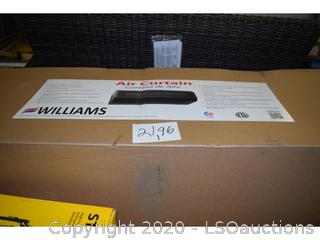 WILLIAMS AIR CURTAIN