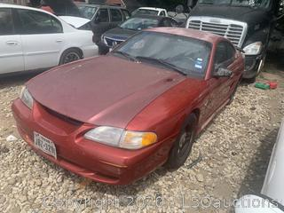 1996 Ford Mustang  - Key