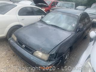 1997 Toyota Corolla  - Key / Runs & Drives