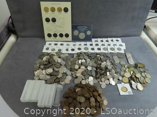 IKE & SBA DOLLARS, DIMES, NICKELS & PENNIES