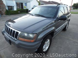 2002 Jeep Liberty 4x4 SUV- Runs