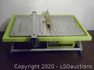 Working Ryobi Table Top Tile Saw