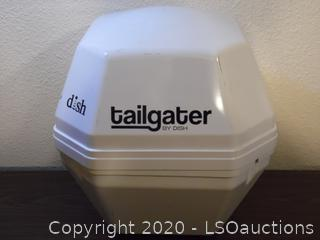 Dish Tailgater Portable Satellite Antenna