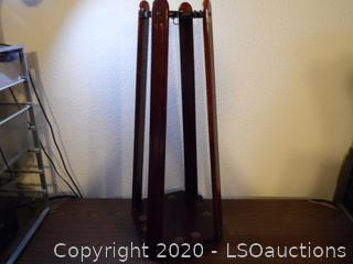 Pool Cue Stick Holder Cherry