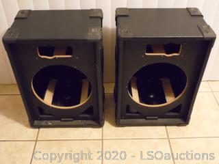 Pair of Audio Choice Speaker Boxes