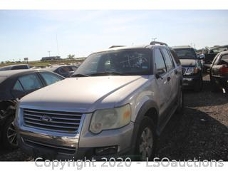 2006 FORD EXPLORER SUV - KEY