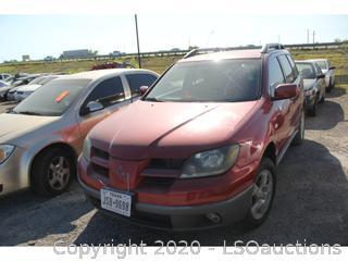 2003 MITSUBISHI OUTLANDER SUV