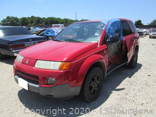 2002 SATURN VUE SUV