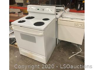 (2) STOVES & DISHWASHER