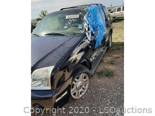2003 MERCURY MOUNTAINEER SUV - KEY