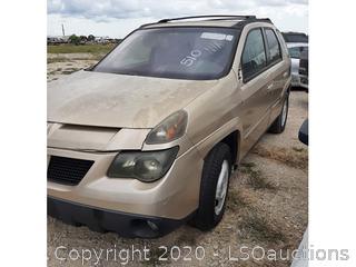 2002 PONTIAC AZTEK SUV - KEY