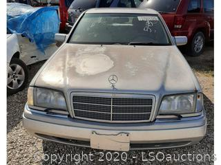 1996 MERCEDES-BENZ C280 - KEY