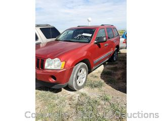 2006 JEEP GRAND CHEROKEE SUV - KEY / STARTS & RUNS