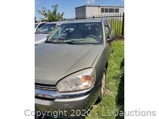 2004 CHEVROLET MALIBU - KEY / STARTS & RUNS