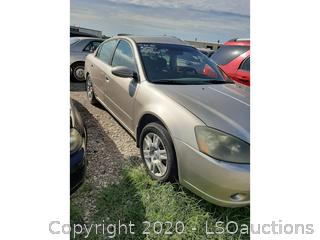 2005 NISSAN ALTIMA - KEY / STARTS & RUNS