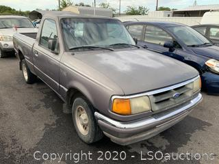 1995 FORD RANGER PICKUP - KEY / STARTED