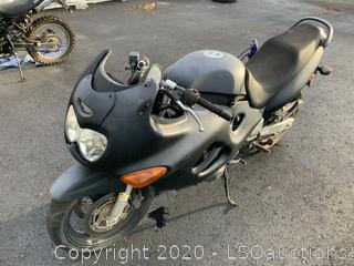2002 SUZUKI KATANA 600 MOTORCYCLE - KEY