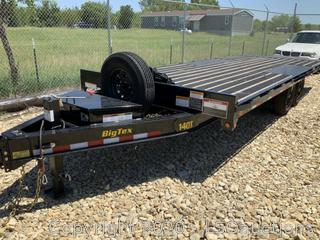 2020 BIG TEX 20-FT POWER TILT TRAILER - KEY /