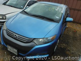 2011 HONDA INSIGHT - KEY