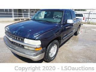 2001 Chevrolet Silverado 1500 Pickup - Key / Ran & Drove