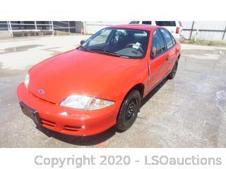 2000 Chevrolet Cavalier - Key / Ran & Drove