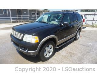 2003 Ford Explorer SUV - Key