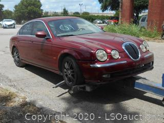 2003 JAGUAR S-TYPE - KEY