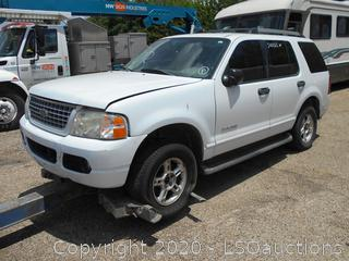 2005 FORD EXPLORER SUV - KEY