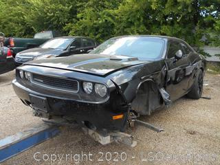 2014 DODGE CHALLENGER - KEY / STARTED