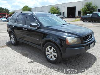 2005 VOLVO XC90 - KEY / STARTED