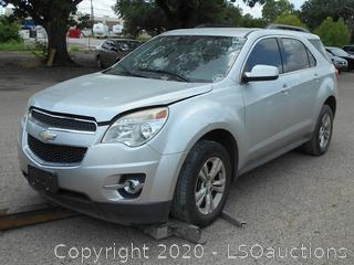 2013 CHEVY EQUINOX LT SUV - KEY