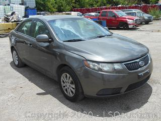 2011 KIA FORTE EX - KEY / STARTED