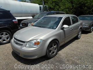 2009 CHEVY COBALT LT - KEY / STARTED
