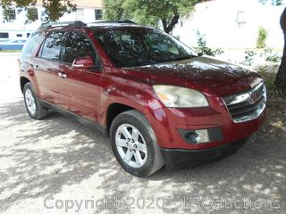 2010 SATURN OUTLOOK SUV - KEY / STARTED