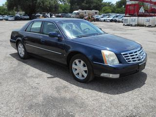 2007 CADILLAC DTS - KEY / STARTED