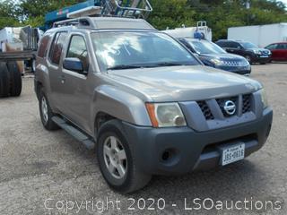 2007 NISSAN XTERRRA SUV - KEY / STARTED